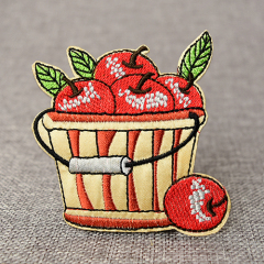 Fruit Basket Embroidery Patches