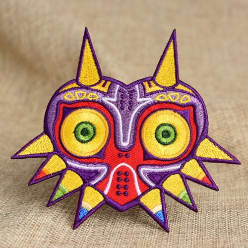 Majora's Mask Embroidered Patches
