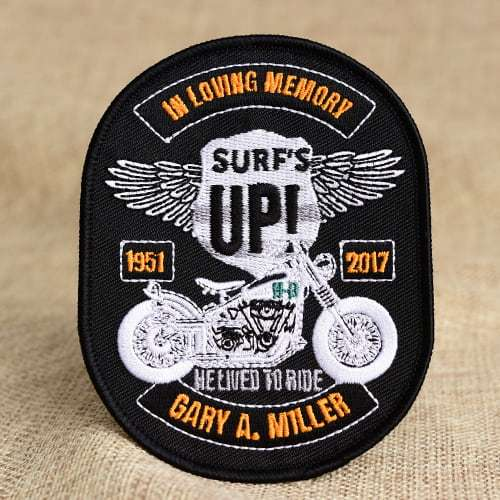 Motorcycle Custom Patches