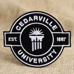 Cedarville University Custom Patches