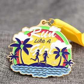 5K Glitter Race Medals