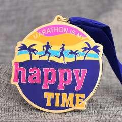 Custom Glitter Marathon Medals