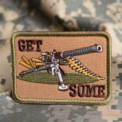 Gatling Gun Custom Patches