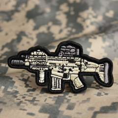 M4 Airsoft Embroidered Patches