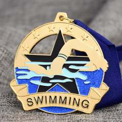 Custom Swimming Race Medals