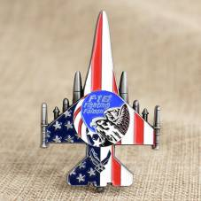 F16 Fighting Falcon Air Force Coins