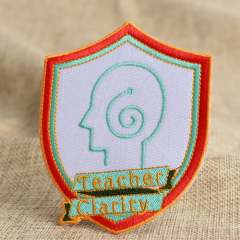 Teacher Clarity Embroidered Patches