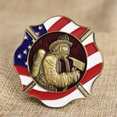 Fire Rescue Firefighter Challenge Coins