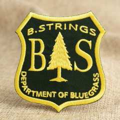 B.String Embroidered Patches