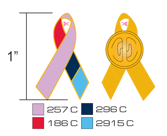 Beautiful Awareness Lapel Pins