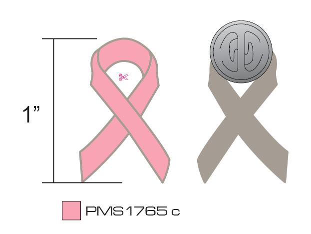 Stock Pink Awareness Pins