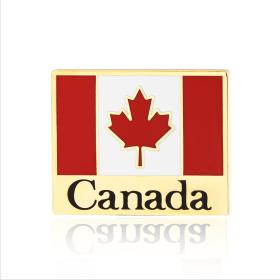 canada flag pins S110