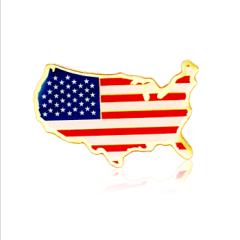 Stock American  Flag Lapel Pins (S128)
