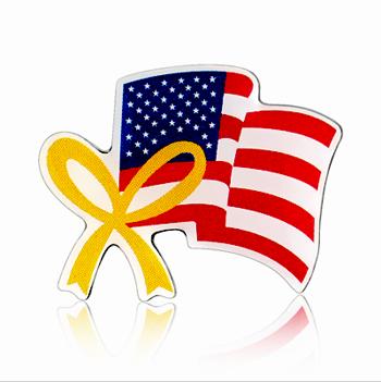Stock American Flag Lapel Pins (S124)