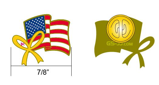 Americanl pin