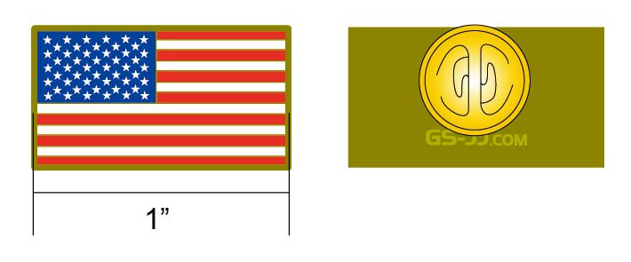 custom American lapel pins