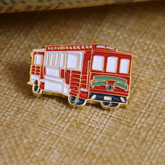 Soft Enamel Pins for Bus