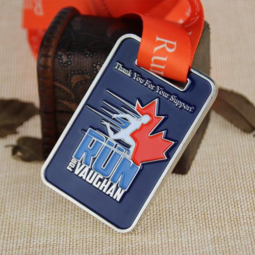 Custom Running Medals for Silver Medal