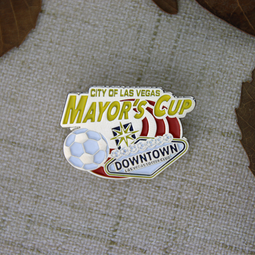 Enamel Pins for Mayor's Cup