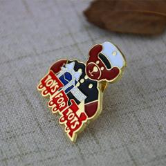 Soft Enamel Lapel Pins for Bear