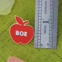 Hard Enamel Lapel Pins for Apple