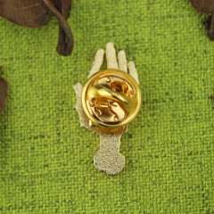 Custom lapel Pins for Hand
