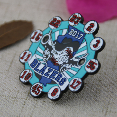 Custom Trading Pins for Baseball Blazers