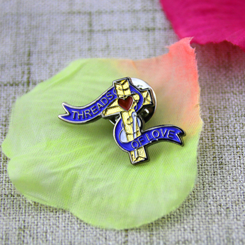 Soft Enamel Pins for Threads of Love