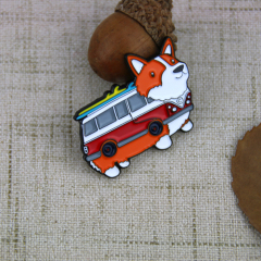 Custom Lapel Pins for Dog Bus