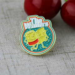 Soft Enamel Pins for Waiters