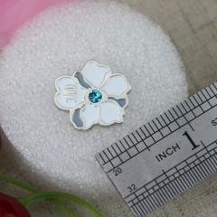 Soft Enamel Pins for Flower
