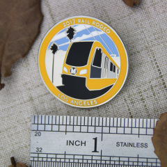 Rail Rodeo Enamel Pins