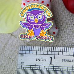 Soft Enamel Pins for Owl