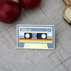 Custom Lapel Pins for Tape