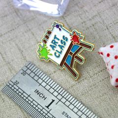 Custom Lapel Pins for Art Class