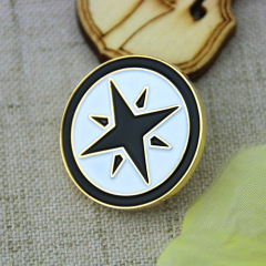 Custom Lapel Pins for Hexagram