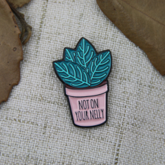 Lapel Pins for Potted Plant