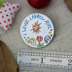 Lapel Pins for Lavrel Hill