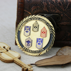 Army Force Custom Challenge Coins