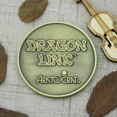 Dragon Link Custom Coins