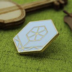 Custom Lapel Pins for Hexagon