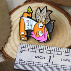 Shitty Kitty Custom Lapel Pins