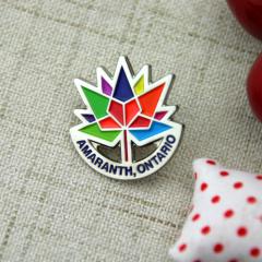 Custom Lapel Pins for Amaranth