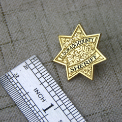Lapel Pins for Sheriff