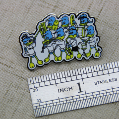 Woodpeckers Band Lapel Pins