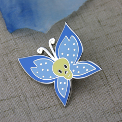 Lapel Pins for Blue Butterfly