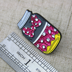 Lapel Pins for Candy Bottle