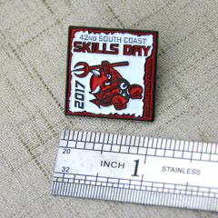Lapel Pins for Skills Day