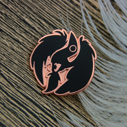 Lapel Pins for Crow