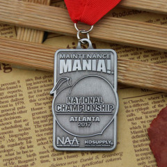 National Tournament Customized Medals
